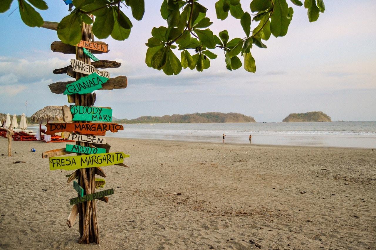beach in samara costa rica