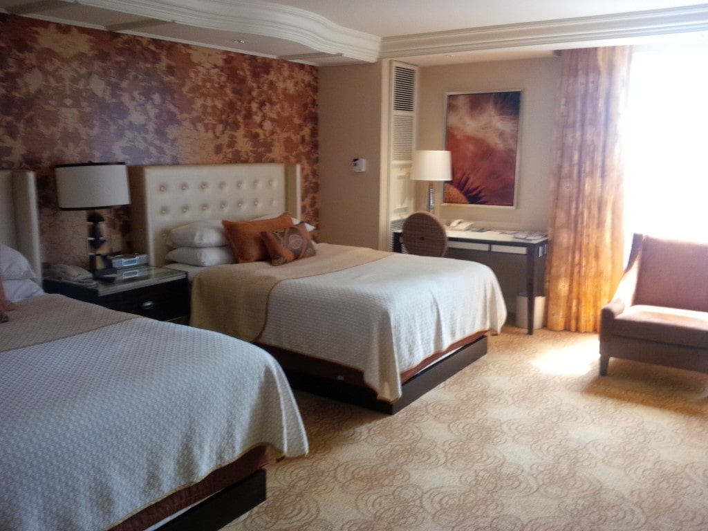 "Our room in the Bellagio - ""The Bellagio Las Vegas in July - Hot Hot Hot!"" - Two Traveling Texans"