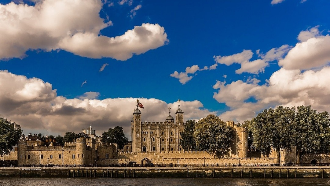 The Tower of London and Remembrance Poppies