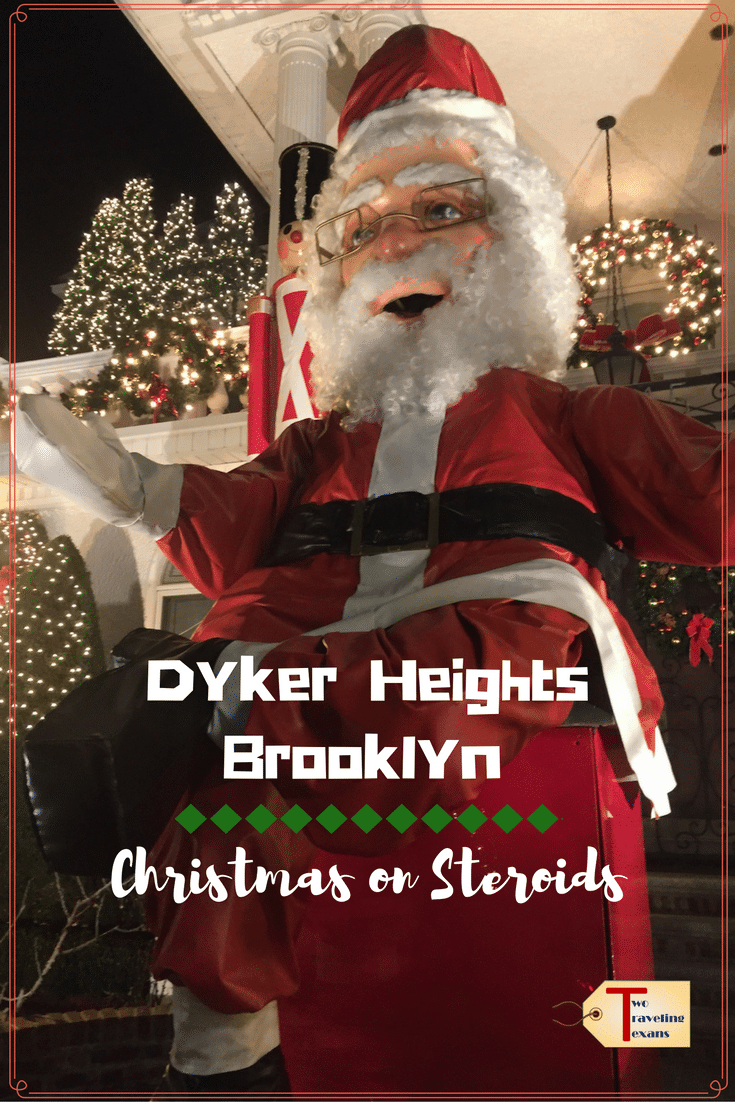 A travel blog about venturing out to the Dyker Heights neighborhood in Brooklyn to see the spectacular Christmas Light displays. #nyc