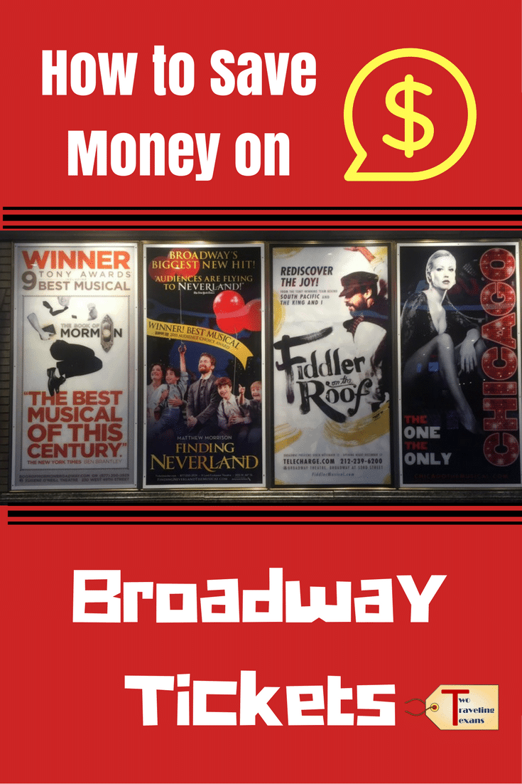 Five suggestions that will help you save money on Broadway show tickets when you are in New York City.  | Travel | Theatre | Budget
