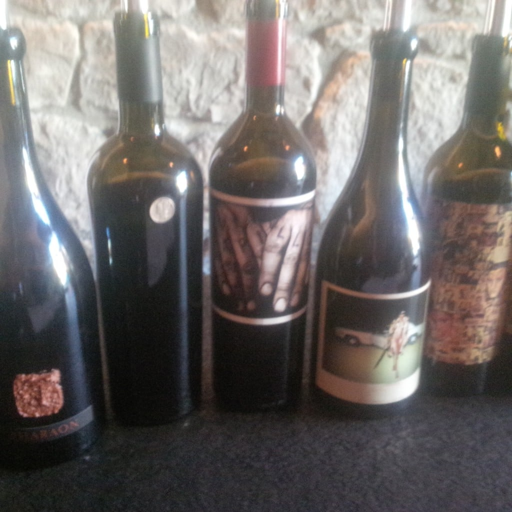 "A few of the wines we tried at Orin Swift - ""10 Wine Tasting Tips and Tricks for Napa Valley"" - Two Traveling Texans"