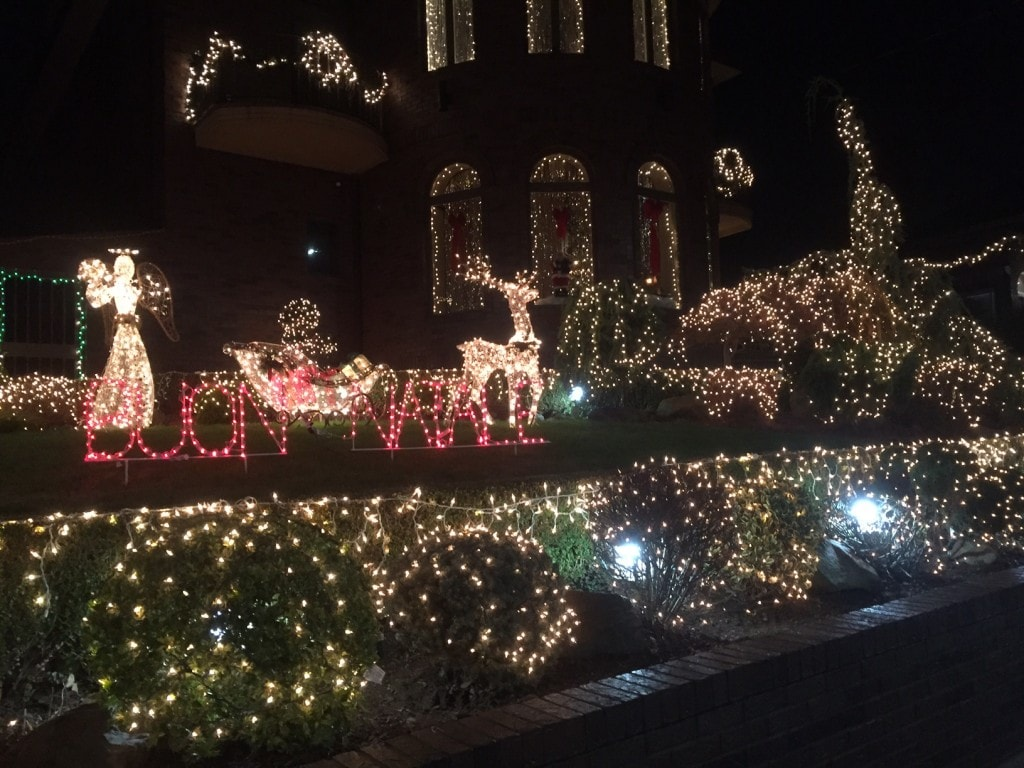 So many impressive holiday lights in Dyker Heights
