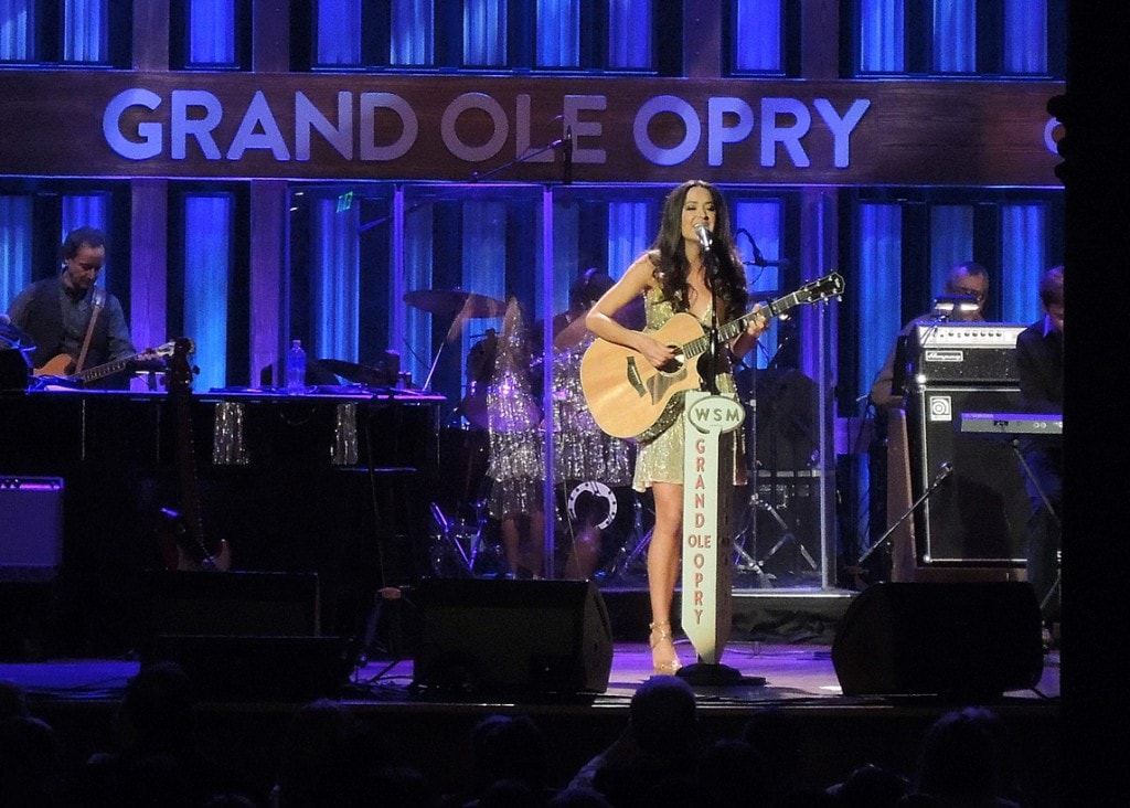 """Annie Bosko making her debut at the Grand Ole Opry in Nashville - """"Our 2016 Travel Wish List"""" - Two Traveling Texans"""