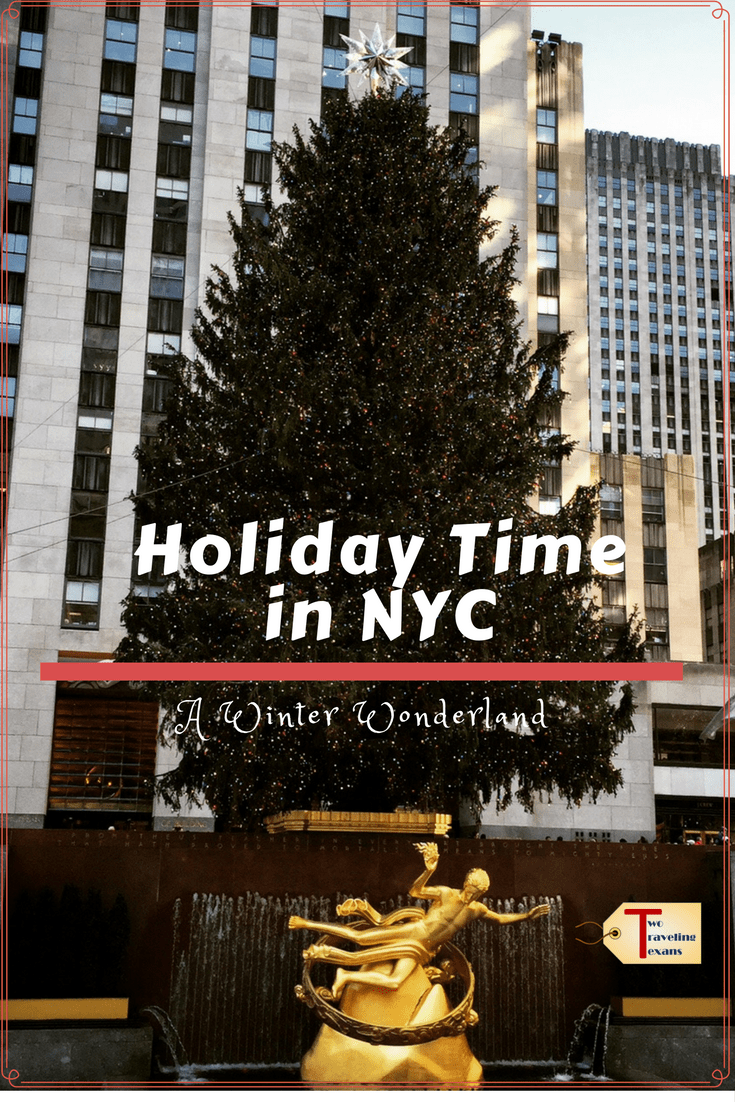 Holiday time in new york city a winter wonderland two for Places to visit in new york in winter