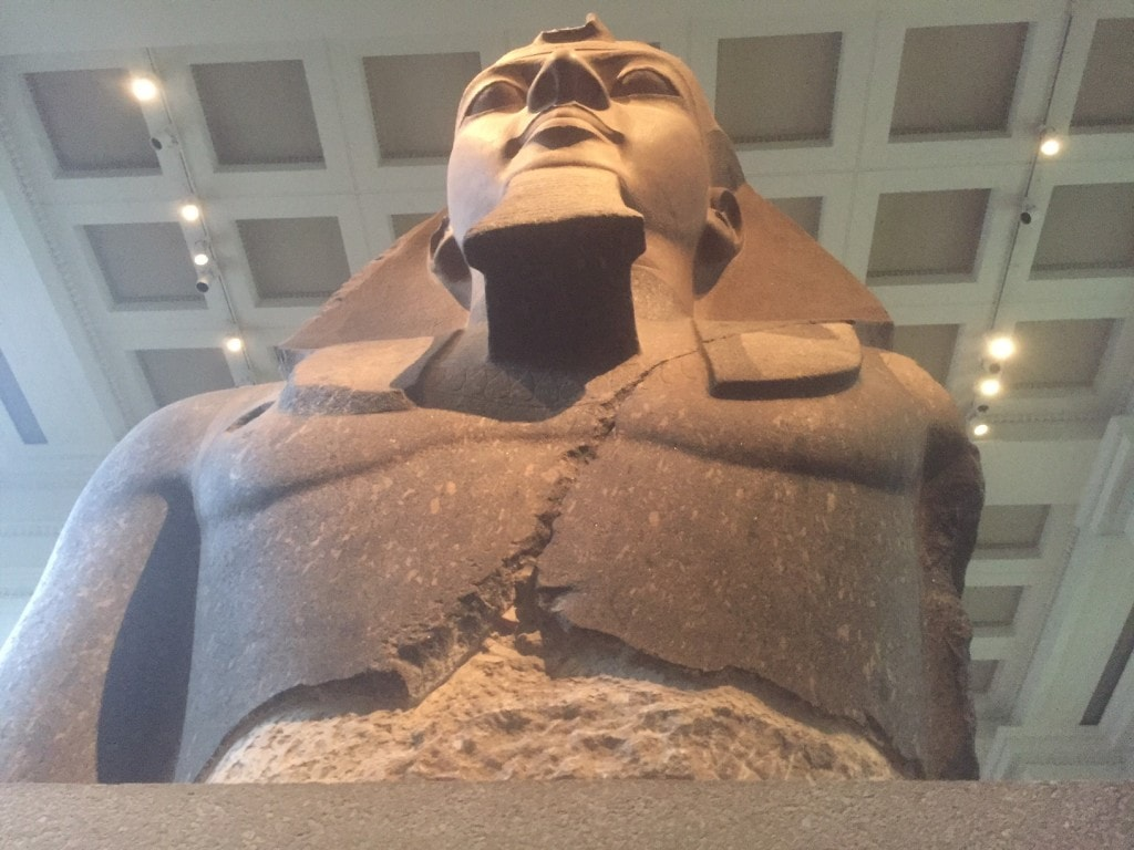There is a large collection of Egyptian Art at the British Museum.