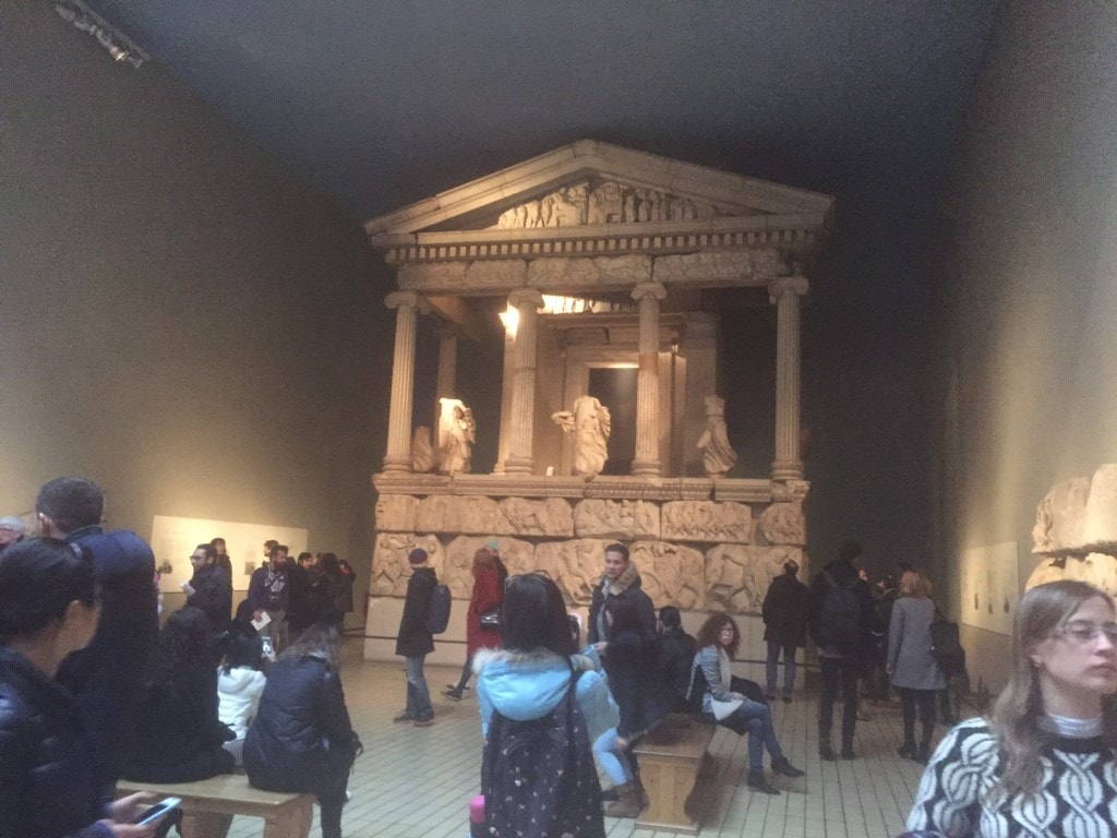 I really enjoyed the Greek art at the British Museum.