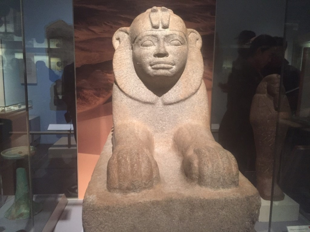 The British Museum has such an impressive collection of Egyptian artifacts.