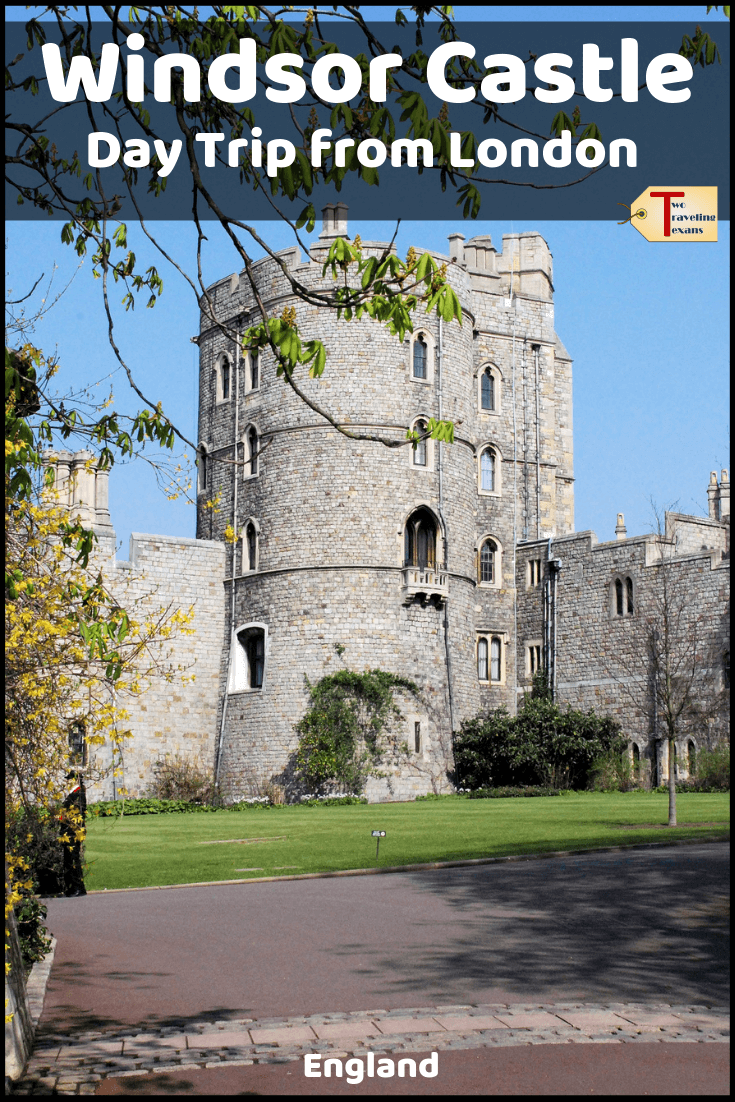 windsor castle tower with text overlay