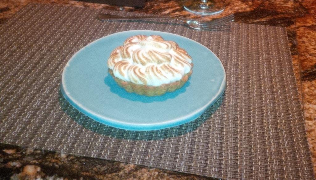 Our tasty lemon dessert at Husk