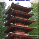 "japanese tea garden with text overlay ""what to see in golden gate park - san francisco USA"""