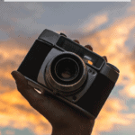 """camera with text overlay """"how to preserve travel memories - 5 creative and easy ways"""""""