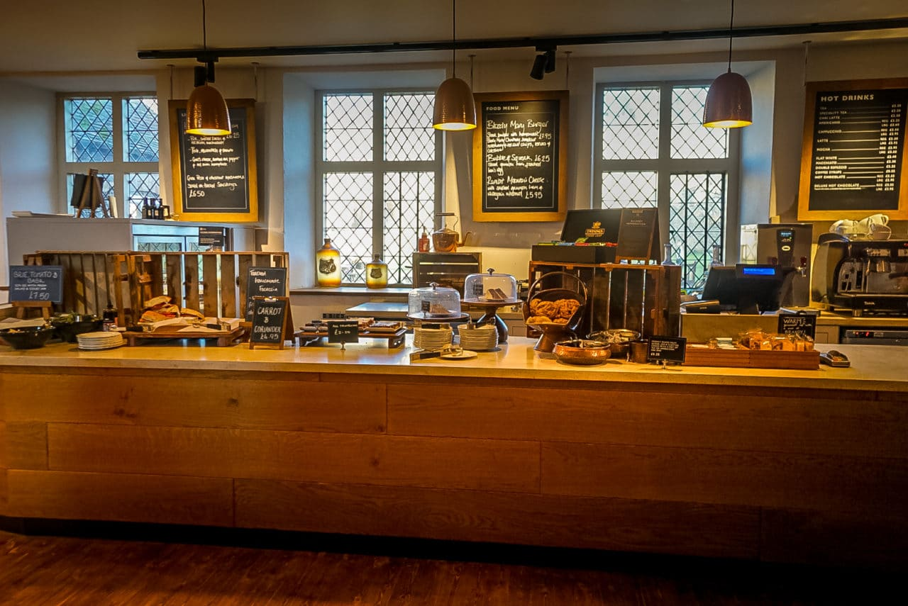 Framlingham Castle Cafe Counter