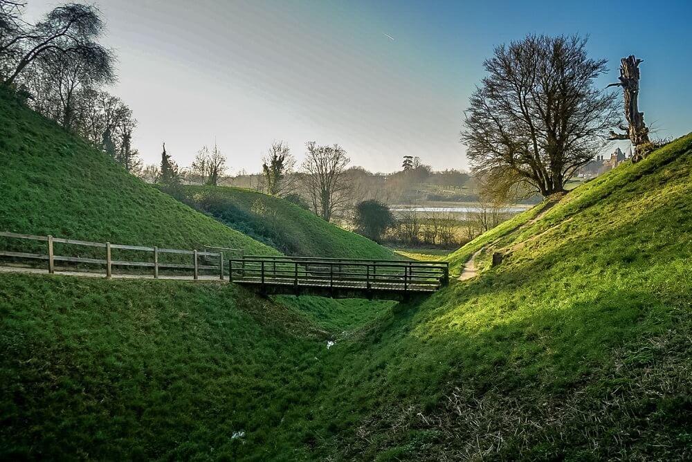 Framlingham Castle Moat