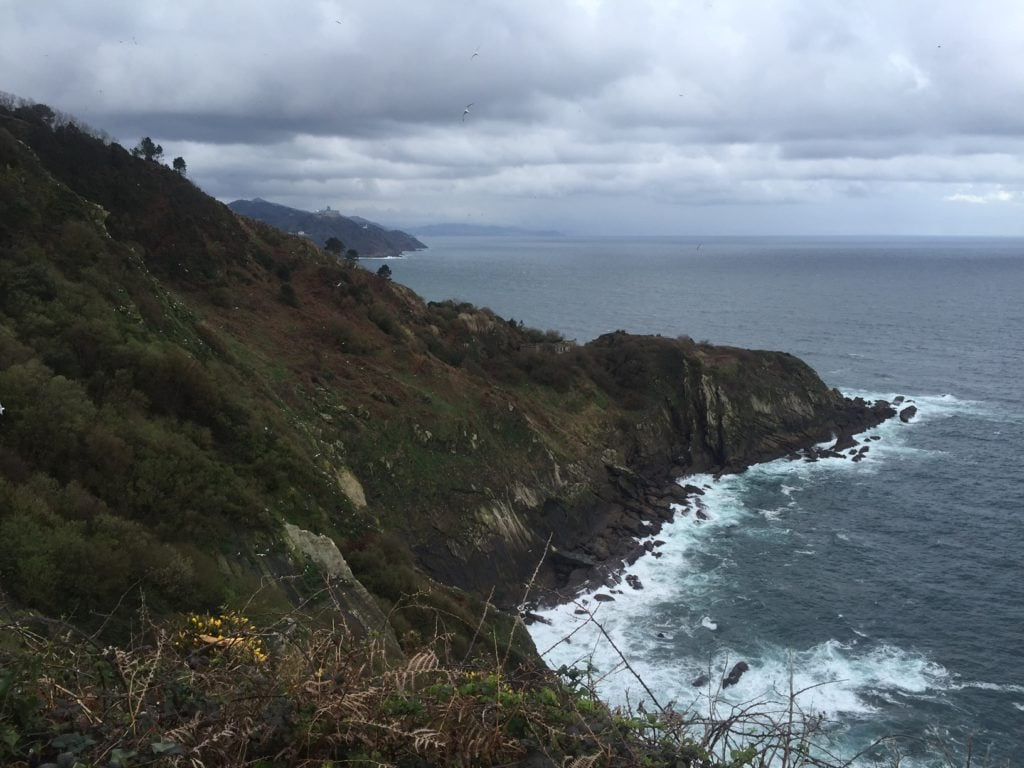 More beautiful coastline! - Camino de Santiago Pictures
