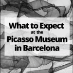 "abstract art with text overlay "" What to Expect at the Picasso Museum in Barcelona"""