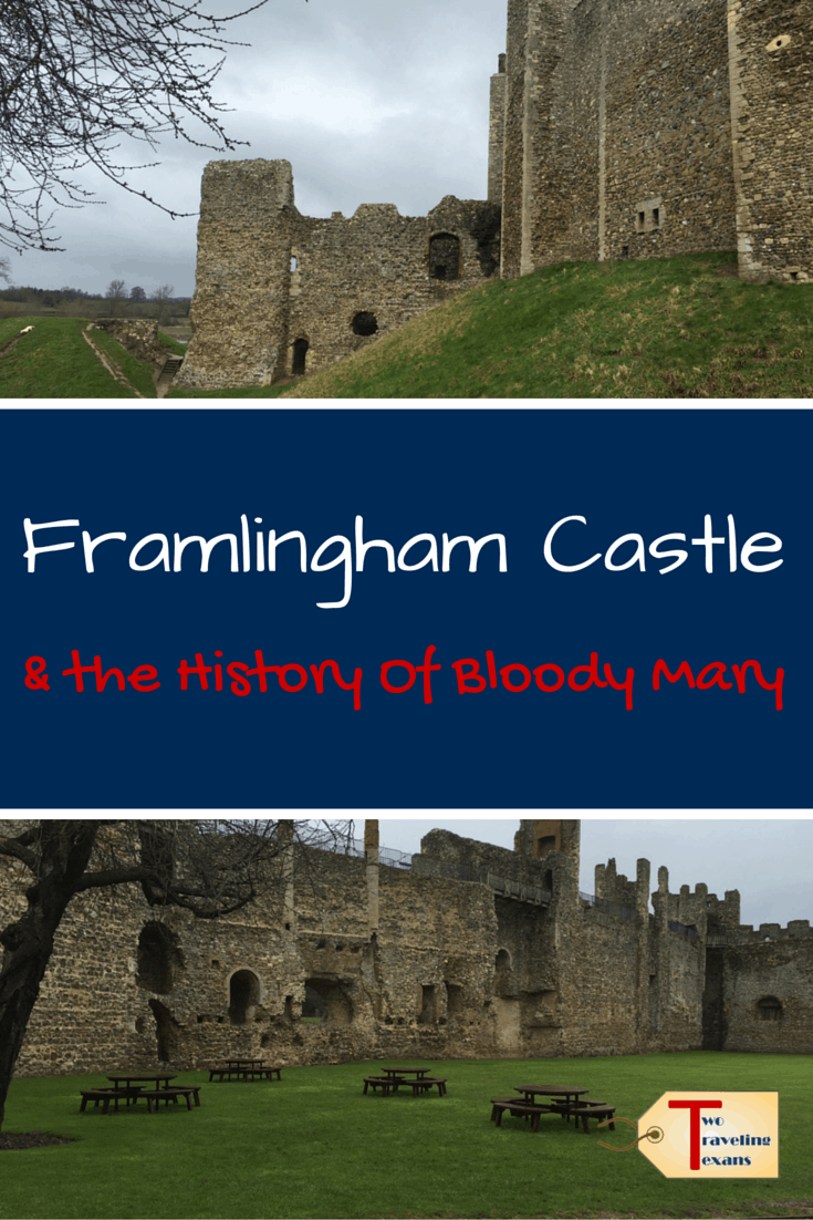 Tips for visiting Framlingham Castle, built in the 12th century, located in Suffolk, England and learning about its history. #UK #englishheritage #suffolkengland | Framlingham Suffolk | Framlingham Castle Mary Tudor | Bloody Mary History | Mary I of England | English History | Suffolk Castle | England Castles | Bloody Mary Queen History | Mary I of England Tudor | Mary I Tudor | Queen Mary Bloody Mary | Bloody Mary Queen of England