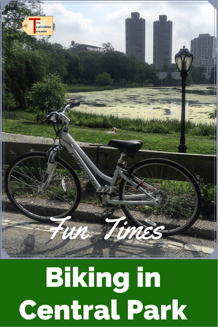Thinking about doing a bike ride in Central Park? Click to read about my first time biking in Central Park, courtesy of Central Park Sightseeing, plus get a discount code for you to get 50% off your rental. | Central Park Bike Ride | Central Park Bike Rental | NYC biking | Biking in Central Park | Biking in NYC | Bike Ride in Central Park | Cycling in Central Park | Central Park Bike Tour | Central Park Bike Route | NYC Central Park things to do #centralpark #bikelife