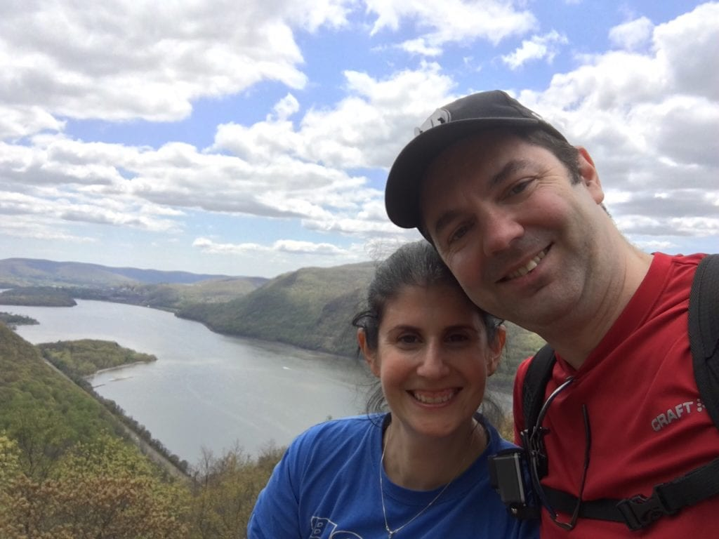 "Obligatory selfie! We were so lucky to have perfect weather. The sky was so beautiful. - ""Breakneck Ridge Lives Up To Its Name"" - Two Traveling Texans - Breakneck Ridge Photos"