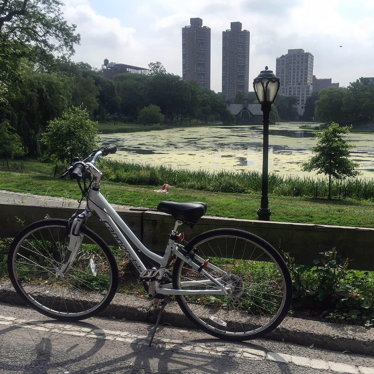 Fun Times Biking in Central Park + A Discount Code!