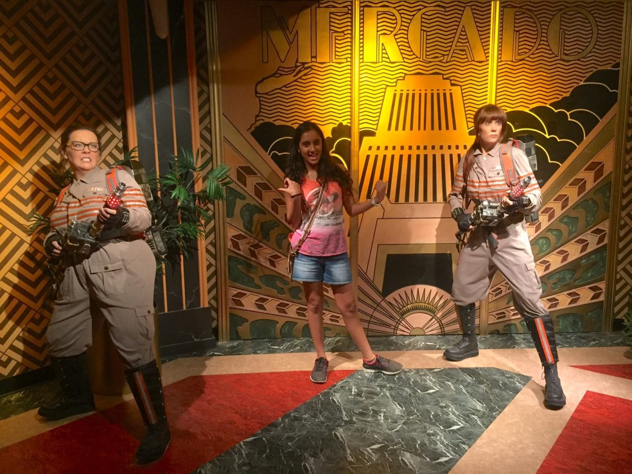 Madame Tussauds NYC Ghostbusters Dimensions Experience