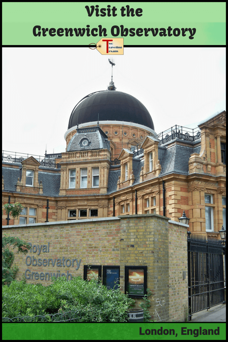 greenwich observatory building with text overlay