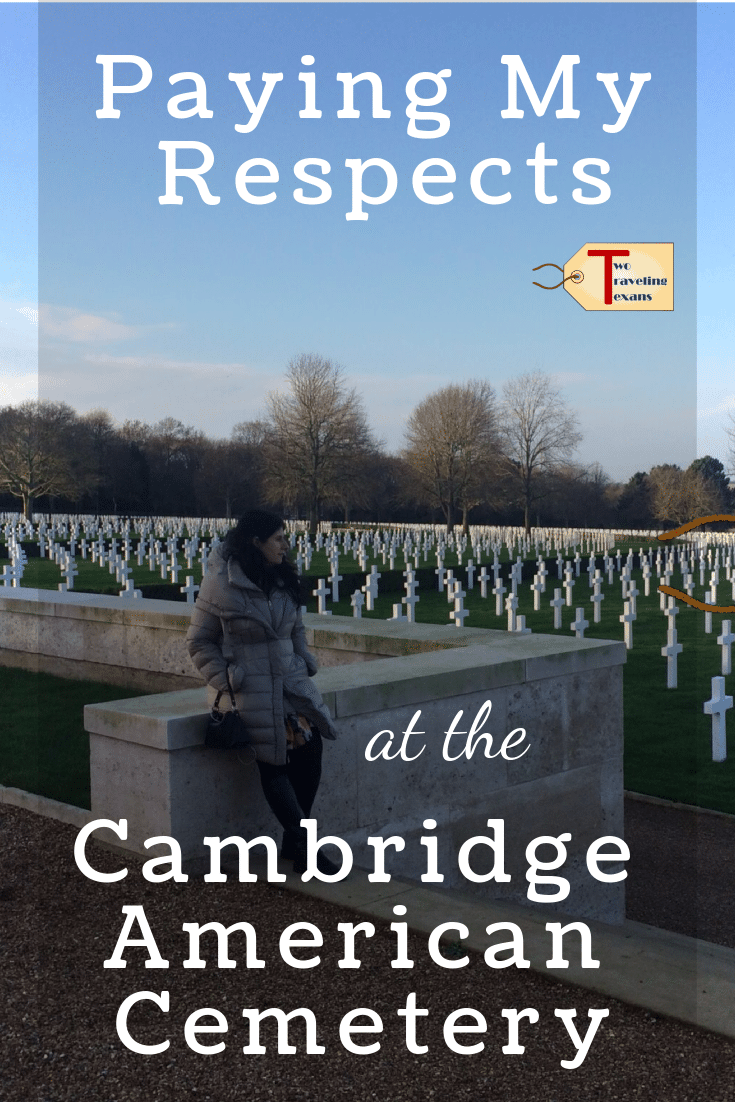 Read about our visit to the Cambridge American Cemetery which honors Americans who served overseas during World War II. #england #travel #history | War Cemetery | War Cemeteries | England Cemetary | England Cemeteries | Historic Cemeteries | Military Cemetary Memorial Day | Military Cemeteries | Cambridge Things to do in
