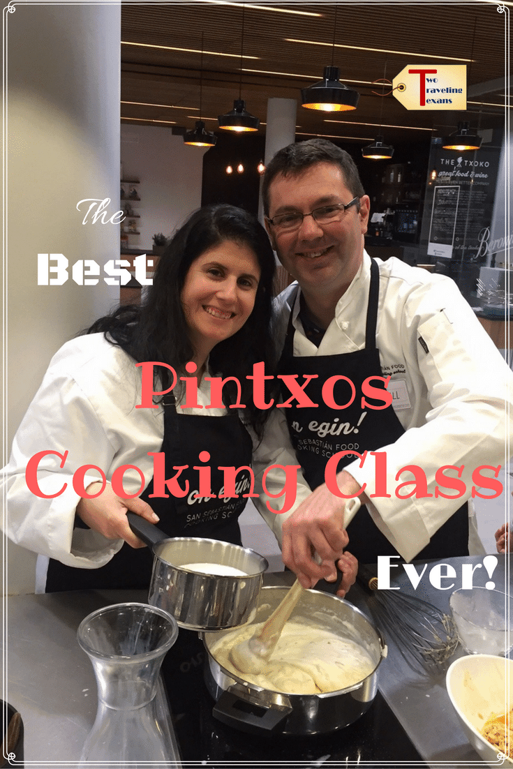 Find out what the Essential Pintxos cooking class with San Sebastian Food is like and get details on how you can download a Basque cookbook for FREE! #spain #foodie