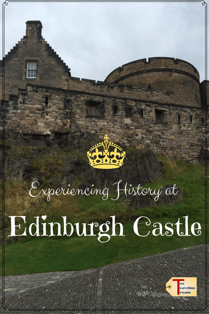 edinburgh castle with text overlay