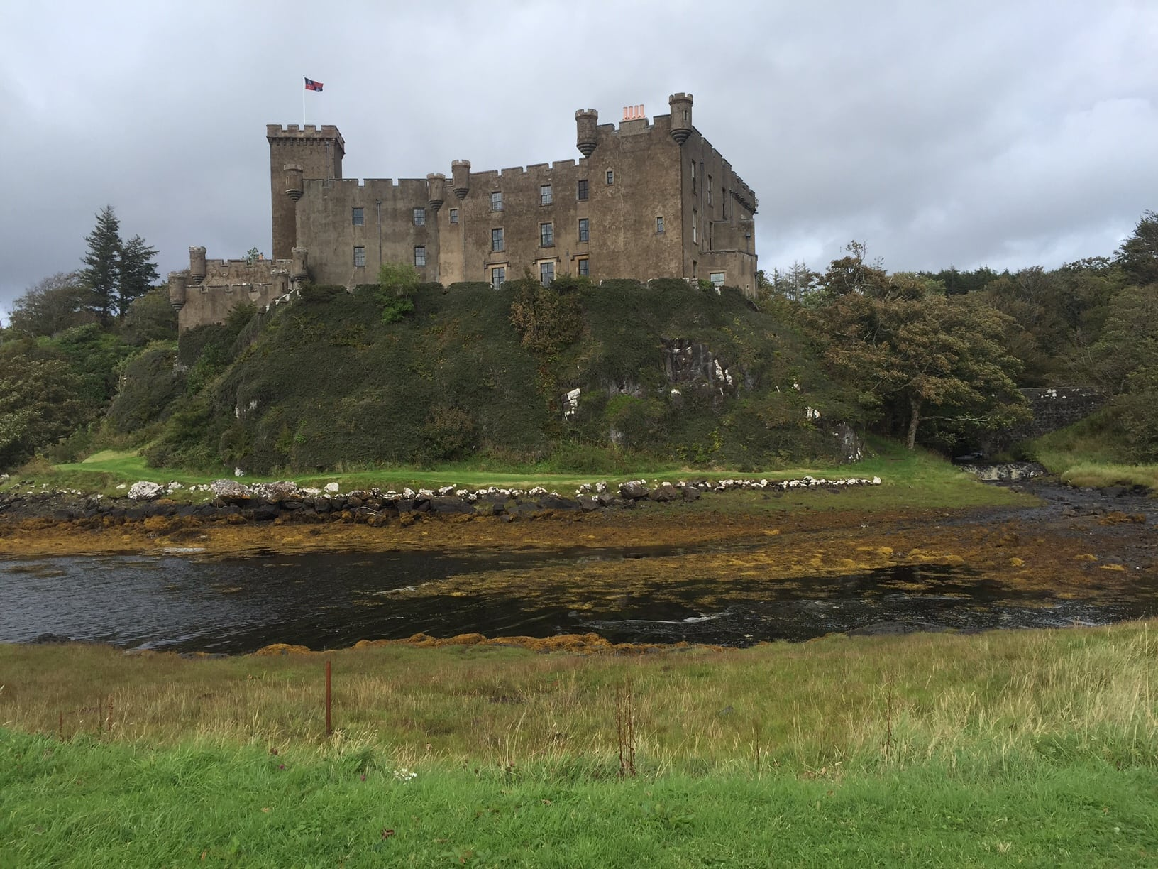 Another view of Dunvegan Castle.