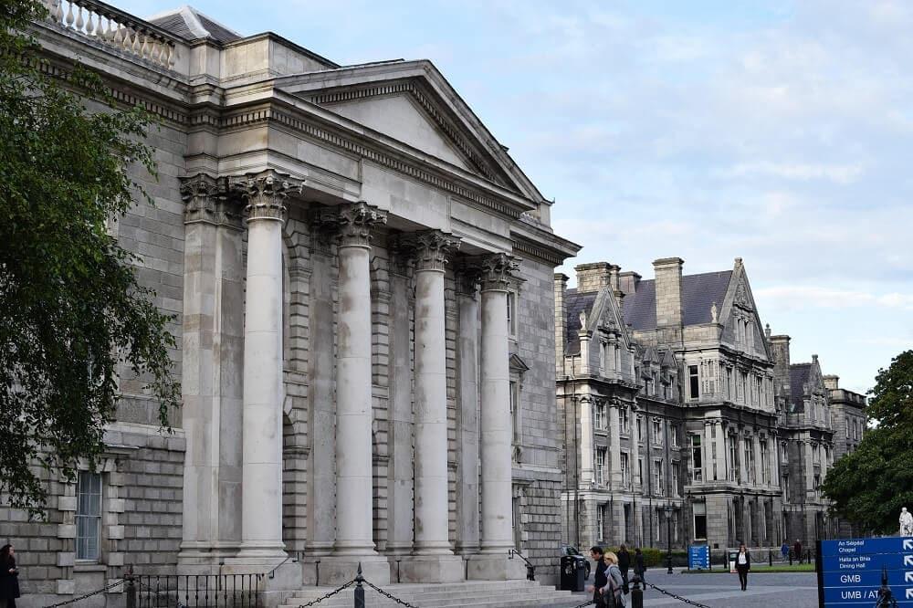 Trinity College Campus in Dublin
