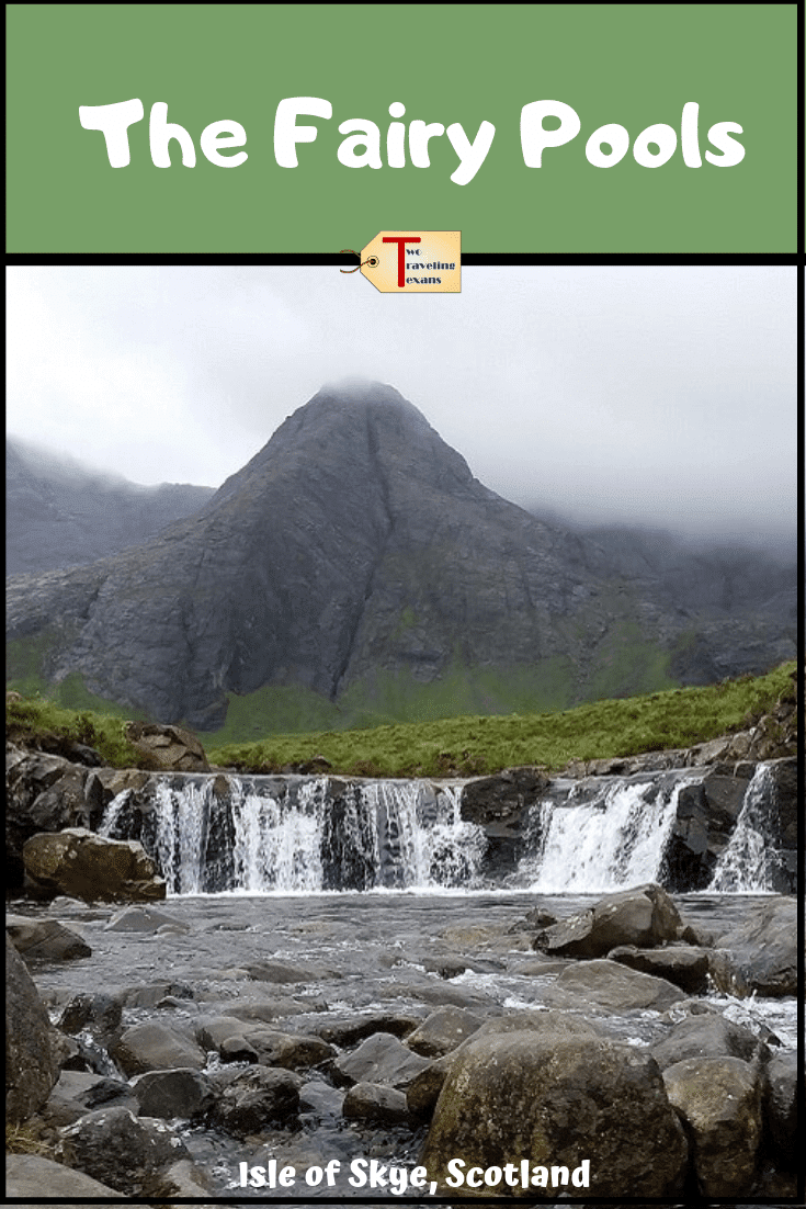 fairy pools in isle of skye scotland