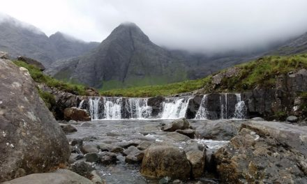 The Magical Fairy Pools in Isle of Skye, Scotland