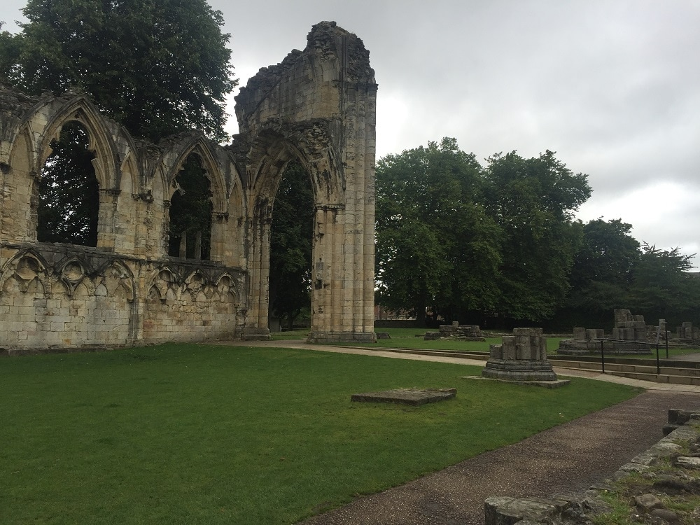 "St Mary's Abbey is now just ruins. - ""York: Five Must See Historic Sites"" - Two Traveling Texans"
