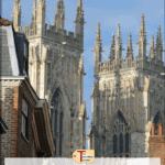"york minster with text overlay "" England Travel - Historic Places to Visit in York"""