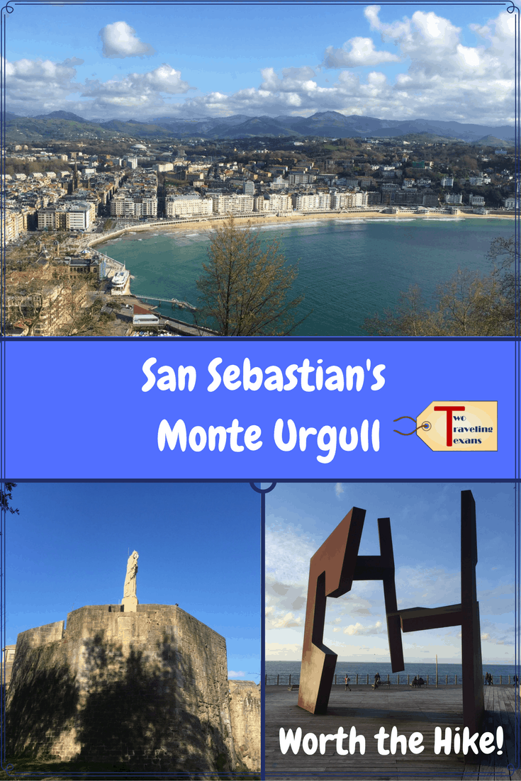 Info to help you plan your visit to hike San Sebastian's Monte Urgull.  Highlights include the castle, statue of Christ, British Cemetery, & amazing views of the city. | Spain | Basque Country
