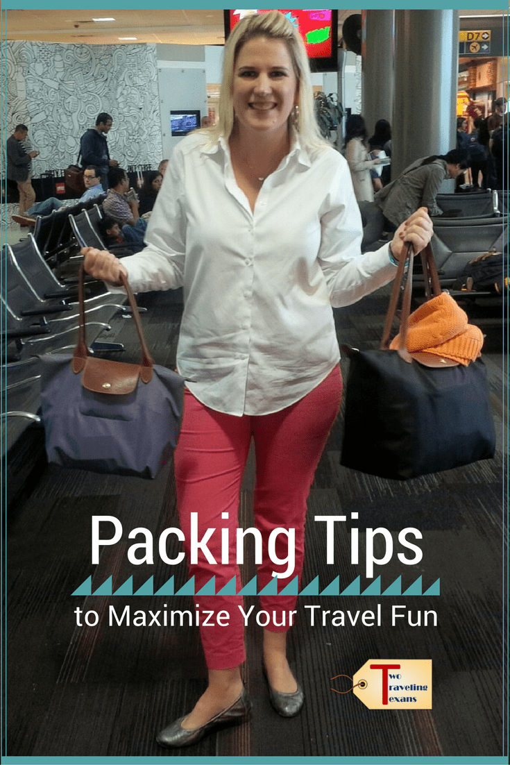 Get suggestions on how to be more efficient when packing for a trip so that you are prepared for fun as soon as you get off the plane! When you pack light, travel is much easier.