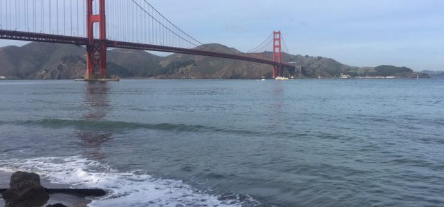 Bike Across the Golden Gate Bridge: Another off my Bucket List!