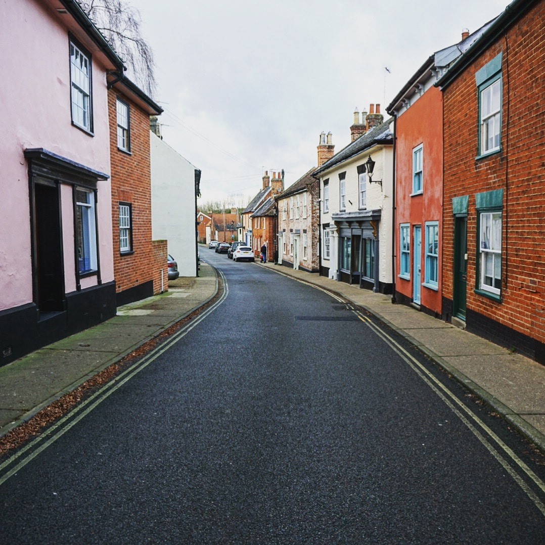 "Christmas Day is always quiet in England. Here is a shot of one of the main streets in Halesworth. - ""EU Flight Compensation Rules Simplified"" - Two Traveling Texans"