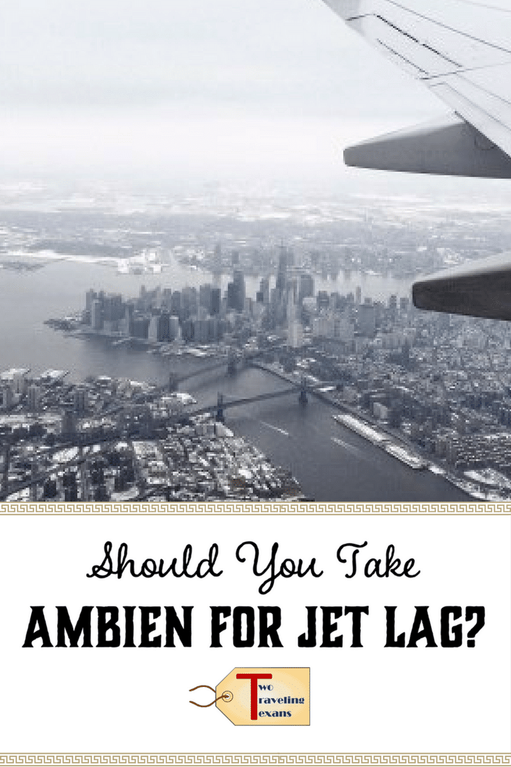 Learn about my experience taking ambien for jet lag so that you are aware of potential side effects and can discuss with your doctor. | Ambien Truths | Jet Lag After Trips | Jet Lag Tips | Jet Lag Medicine | jet lag cure | jet lag can't sleep | jet lag long flights | jet lag pills | jet lag remedies | jet lag recovery via @2travelingtxns #traveltips