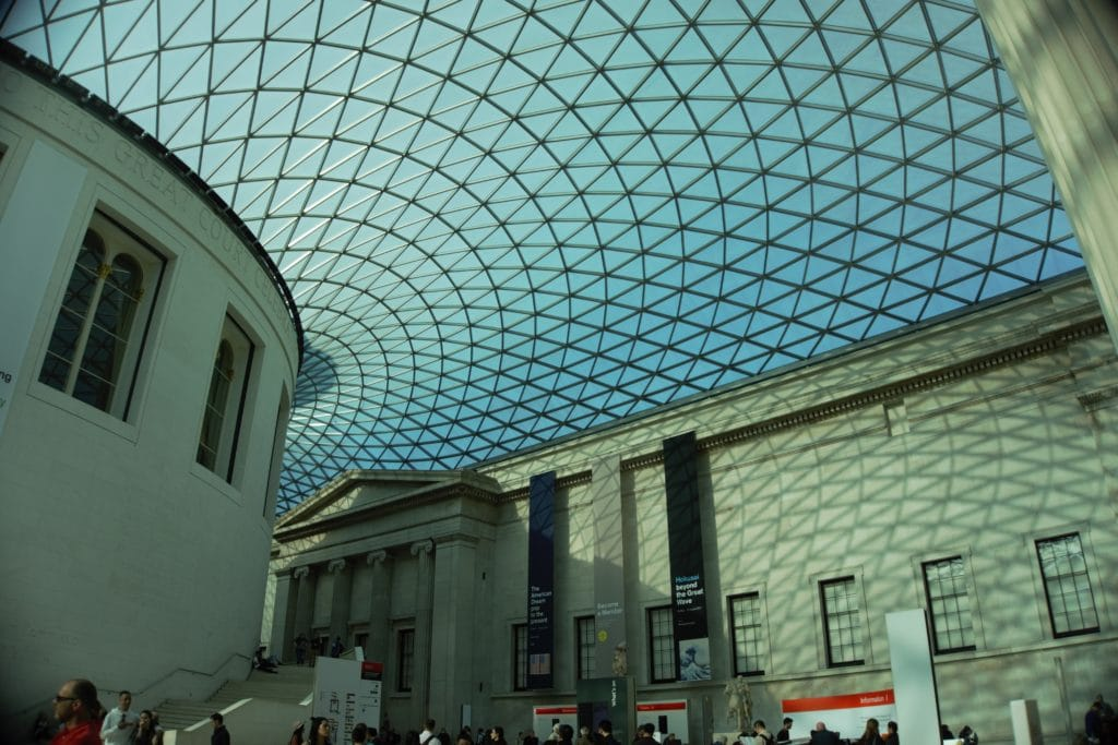 The new roof at the British Museum is spectacular! - Two Traveling Texans
