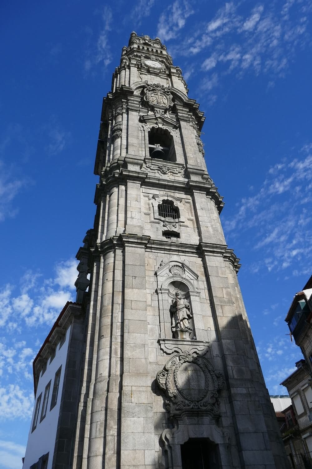 The Clerigos Tower is worth a stop on your Porto Harry Potter Tour