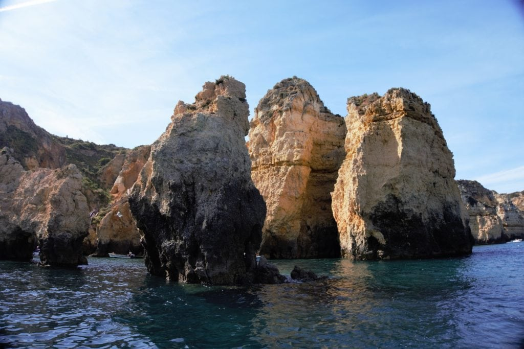 "Algarve Portugal Images - ""Algarve Caves By Boat with Bom Dia"" - Two Traveling Texans"