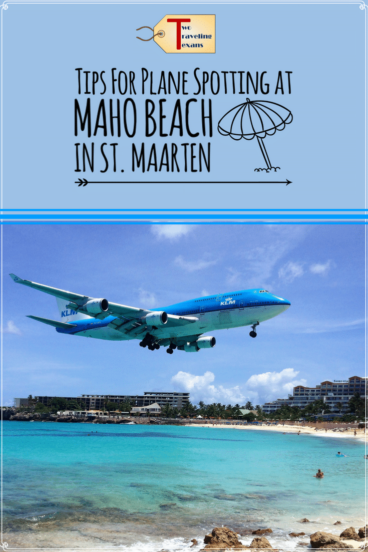 Looking for things to do in St. Maarten? Get tips for Plane Spotting in Maho Beach, St. Maarten | Airplanes | Sonesta | Caribbean | Bucket List | Tropical Bar | Beach Vacation | Aviation | Maho Beach St Marteen Planes | Maho Beach St Marteen Pictures via @2travelingtxns #planespotting #stmarteen #stmartin #stmarteenbeach