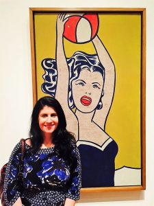 """Anisa at MOMA - - """"Met vs MOMA: Which Museum is Best?"""" - Two Traveling Texans"""
