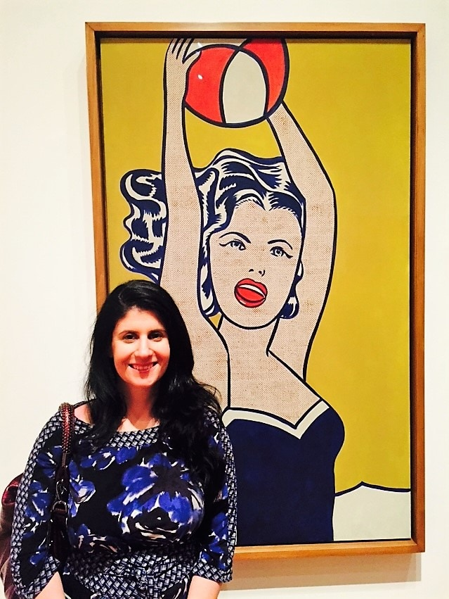 "Anisa at MOMA - - ""Met vs MOMA: Which Museum is Best?"" - Two Traveling Texans"