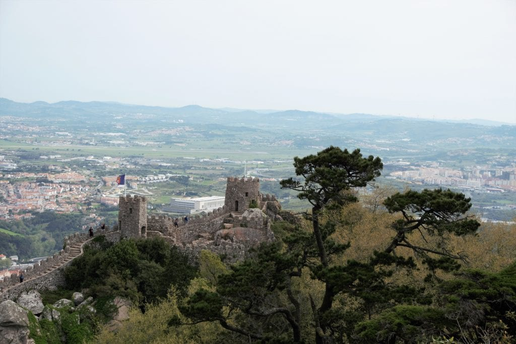 "The Moorish Castle was my favorite spot in Sintra. - "" Make Your Own Sintra Tour"" - Two Traveling Texans"