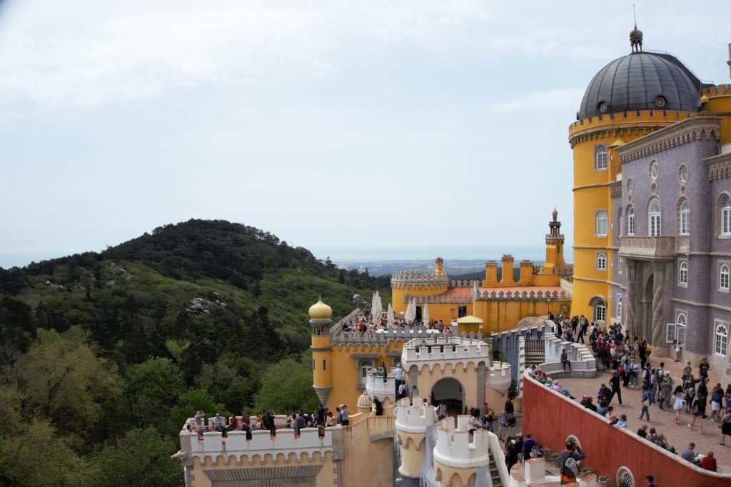 "The bright colors of Pena Palace make you feel like you are in a fantasy land. - ""Make Your Own Sintra Tour"" - Two Traveling Texans"