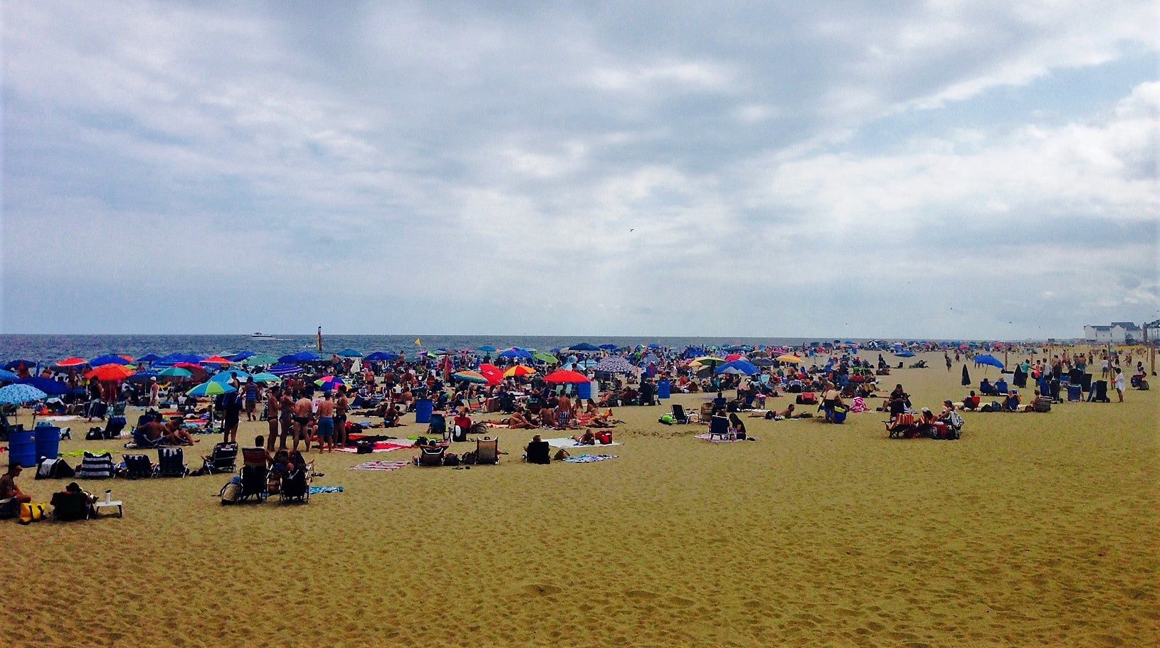 On a nice summer day, everyone wants to be at the beach! -