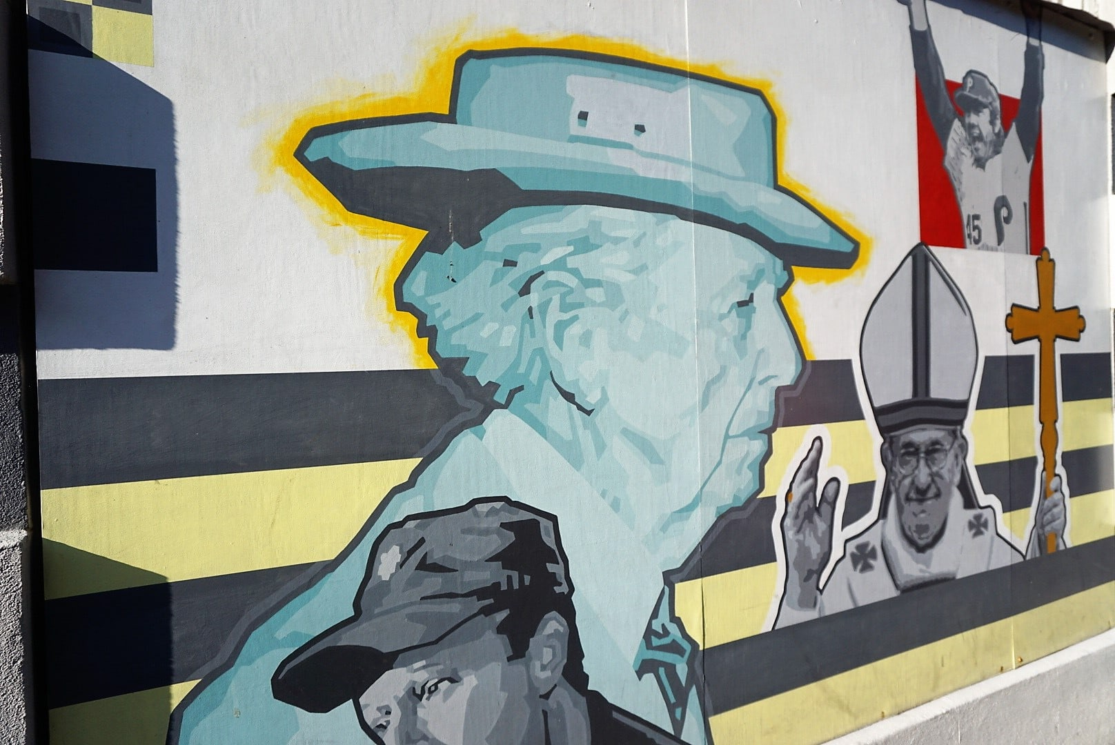 Dirty Franks Mural in Philadelphia